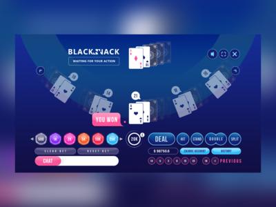 Blackjack HTML5 Gameplay