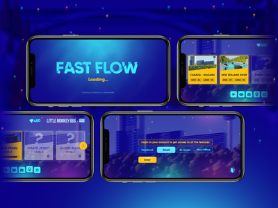 Fast Flow 3D iPhone11 pro mockup apple mobile game 3d lowpoly game lowpoly game design iphone11 pro max mockup iphone11 mockup iphone11promax iphone11pro iphone11 uiux hyper casual game ui game art