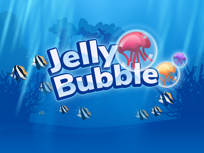 Jelly Bubble Game ui game design design hit game 2d game 2d art game play game ui game art game web games html5 games html5