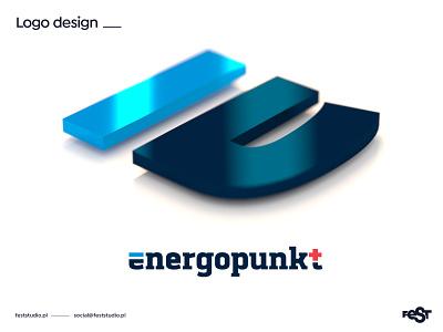 energopunkt – logo design vector branding illustration blender3d blender design logo