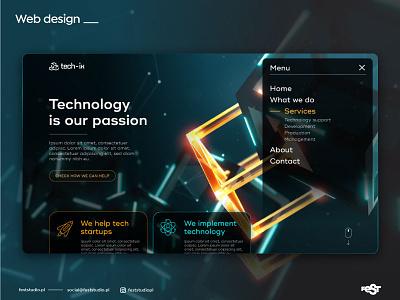 Web design concept inspiration technology web design webdesig web ui design