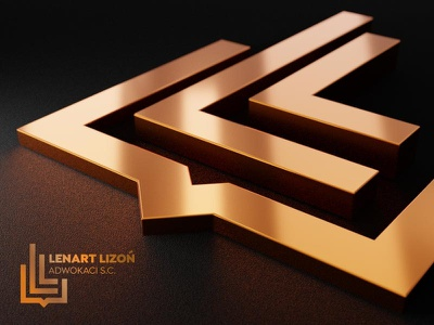 Lenart Lizoń Lawyers logo design design logo lawyer