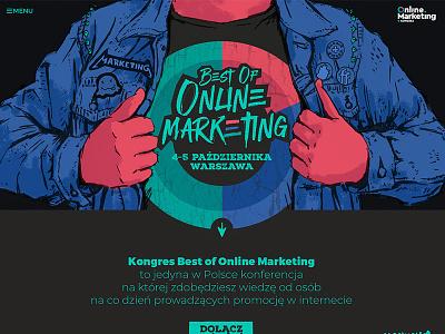 Best of Online Marketing ui web logo