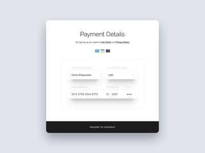 Credit Card Form photoshop psd download payment credit credit card card freebie free