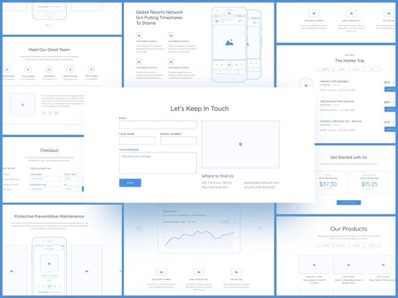 Download Method Wireframe Kit