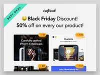 Black Friday Discount from Craftwork