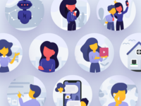 Handsome Illustrations on ProductHunt