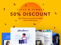 Flash Summer 50% Discount