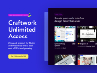 Craftwork Unlimited Access