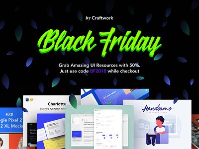 Black Friday 50% Discount wire frame ui  ux design black friday ui-kit dailyui discount sale friday blackfriday black