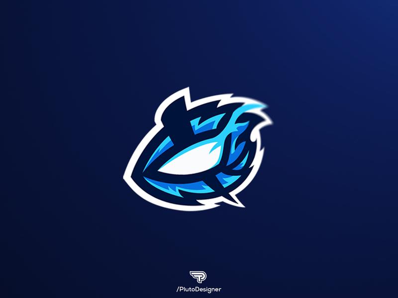 Mascot Logo for NEG blue eye eye logo sportlogodesign logo mascot esportlogo logogaming esportslogo branding mascot design mascot logo