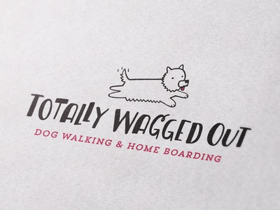 Totally Wagged Out Logo Design