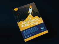 University of Lincoln Flyer Design & Illustrations