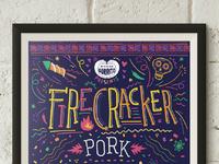 Firecracker Pork Special Poster