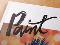 Paint Magazine Logo Design