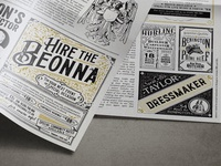 Beonna Vintage Newspaper Design