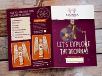 Beonna Illustrated Childrens Kids Activity Sheet