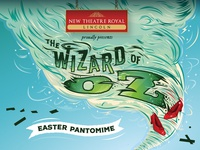 Branding for The Wizard of Oz Easter Pantomime
