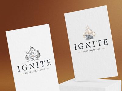Ignite Logo Designs