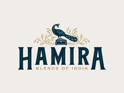 Hamira Blends of India Logo Design
