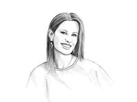 Portrait Illustration - Cate