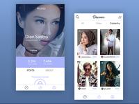 Social Media App - Profile & Discover