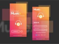 Musicx App - Mobile