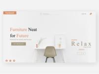 FurnitureX - Landing Page