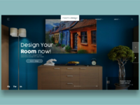 room-design - Landing Page