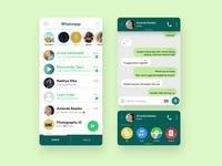 Re-Design UI Whatsapp