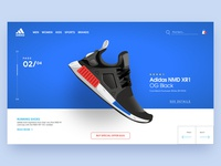 Adidas NMD XR1 - Landing Page