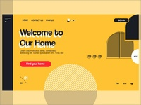 Welcome Our Home! - Landing Page