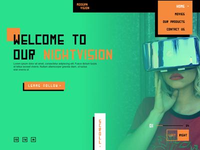 MODERN VISION - Landing Page