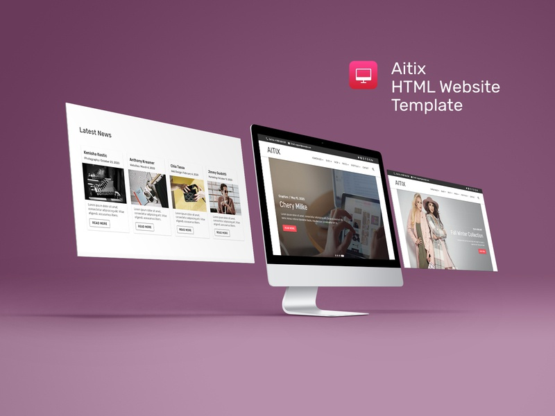 Show Case - Aitix - HTML Website Template