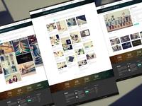 Moki - Multipurpose PSD Template Portfolio 3 Page