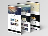 Moki - Multipurpose 126 PSD Template - 3 Option Page