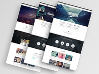 Moki - Multipurpose 126 PSD Template Option 3 Pages Showcase