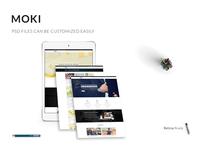 Moki - Multipurpose 126 PSD Template Showcase Option 84