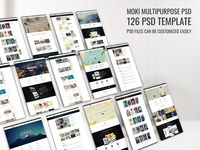 Moki - Multipurpose 126 PSD Template Showcase 92