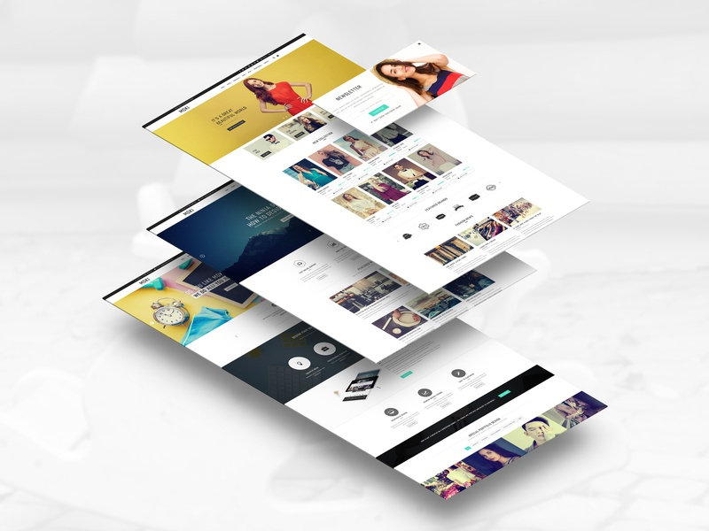 Moki - Multipurpose 126 PSD Template Showcase 108 shopping cart mobile ui design ui ux fashion clean resonsive grid ecommerce personal web template art minimal design interface e-commerce interaction portfolio daily ui fullscreen creative web template 2019 blog