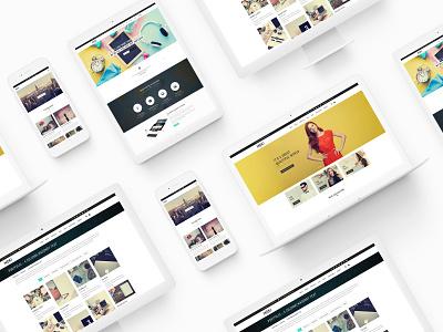 Moki - Multipurpose 126 PSD Template Showcase 109 design idea fashion clean design concept resonsive grid personal web template art minimal uiux design interface interaction home page portfolio fullscreen creative trend web template 2019 blog website