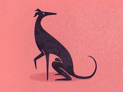 Africanis dog doggo africanis photoshop texture logo italian greyhound dog