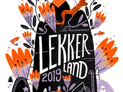 Lekkerland T-shirt Design