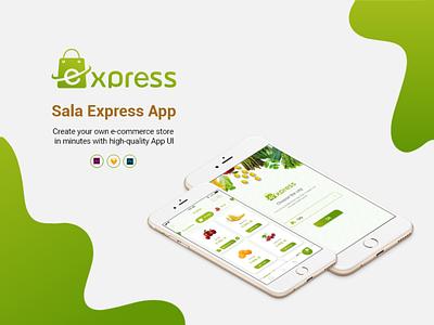 Sala Express hexacit hexa app ux ui ios android uidesign design