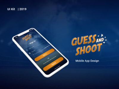 Guess And Shoot hexa hexacit design apps ios android app ui ux