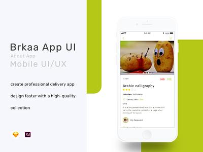 Brkaa App hexa hexacit apps app ios android design uidesign ui ux