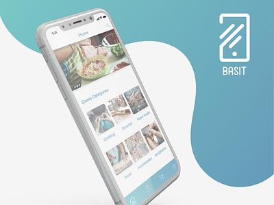 Basit App uidesign app ios android design ui ux