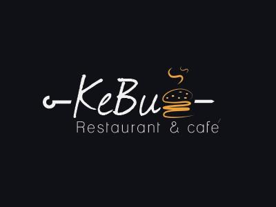 Kebug restaurant design logo