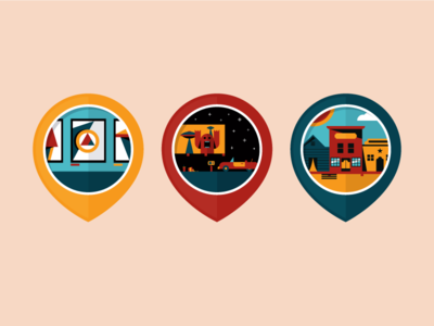 Local Attractions Badges