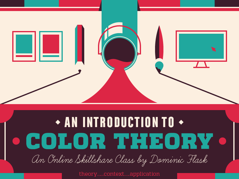 Skillshare Course - Intro to Color Theory by Dominic Flask